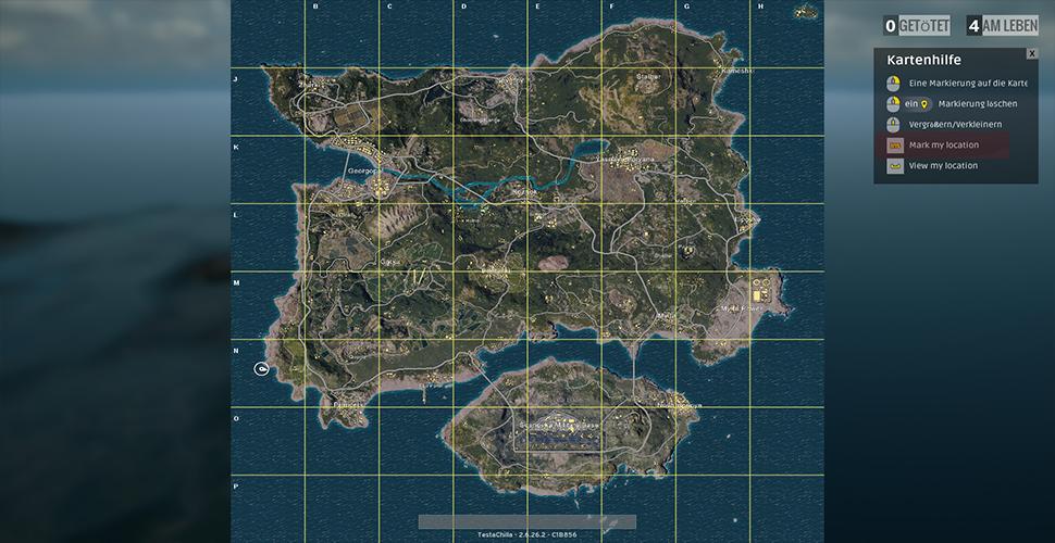 PUBG Loot Map So Findet Ihr Die Besten Waffen In