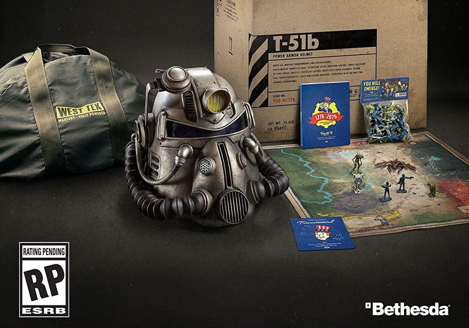 Fallout 76 Power Armor Edition So Beliebt Dass Sie Schon Ausverkauft Ist