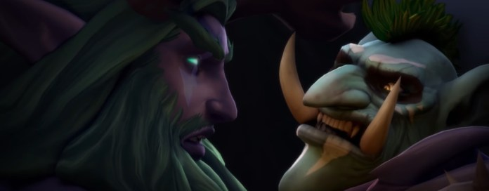 WoW Malfurion troll close up title