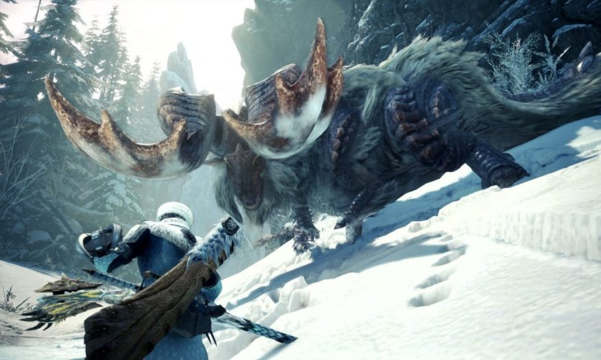 Monster Hunter World Ледяная борьба