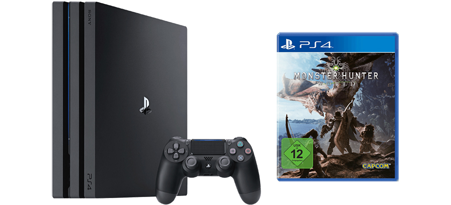 Ps4 Pro Bundle Mit Monster Hunter World Fur 399 Euro Saturn Angebote