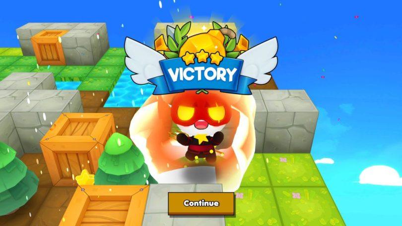 Bombergrounds Battle Royale Victory