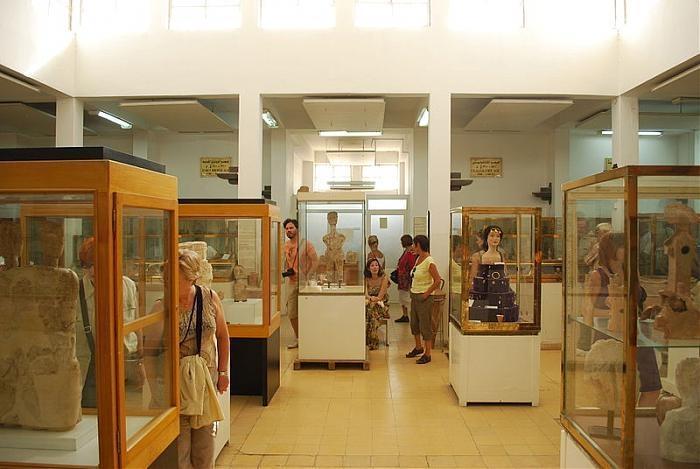 Tourist Visits Jordan Folklore Museum Roman Theater Editorial