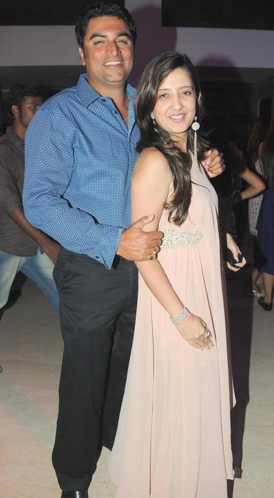 Farzaad and Amy Billimoria Spotted at The Launch Of Zumba Fitness Event