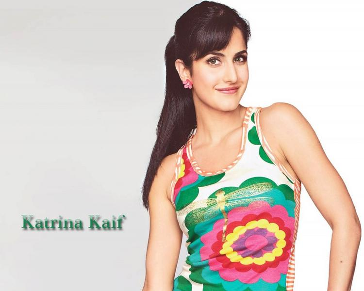 Katrina Kaif Cute Stunning Face Look Wallpaper