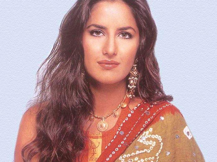 Katrina Kaif Looks Dazzles In Saree
