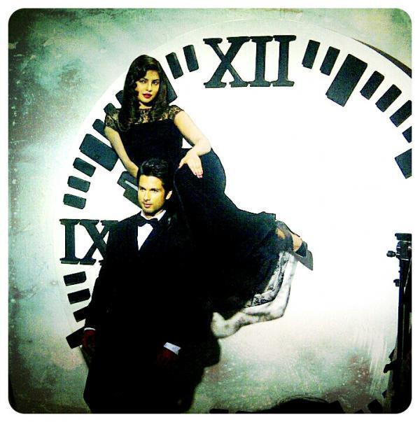 Priyanka Chopra and Shahid Kapoor From Filmfare Shoot