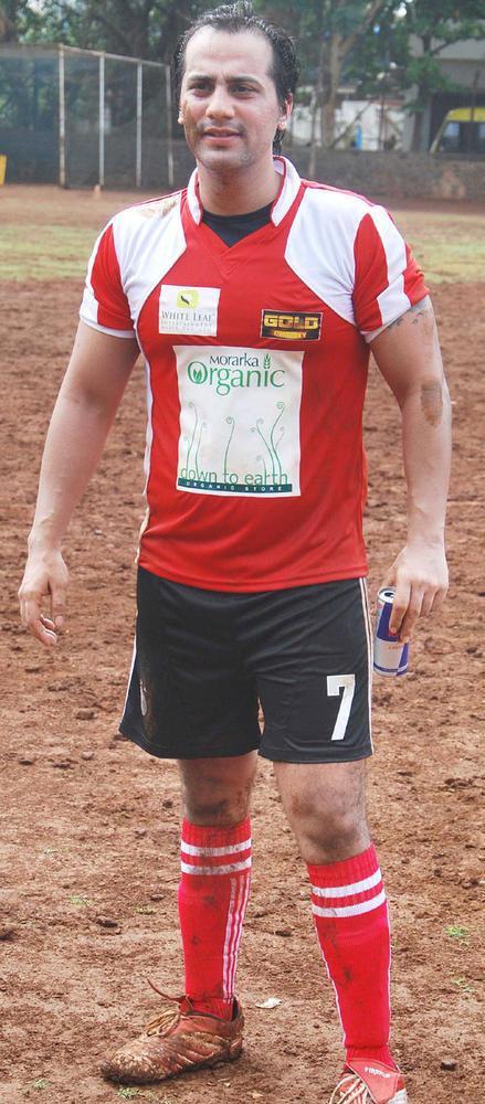 Star Plays Gold's Charity International Soccer Football Match