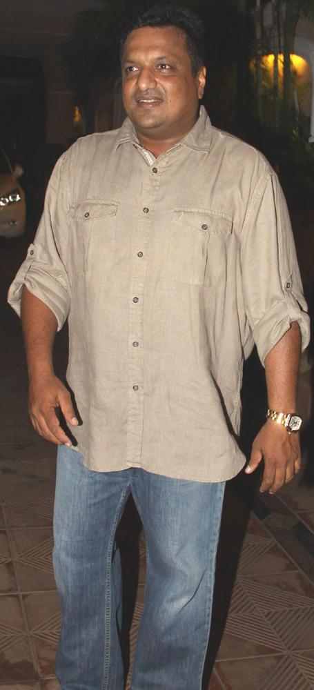 Sanjay Gupta Spotted at Mika Singh Birthday Party