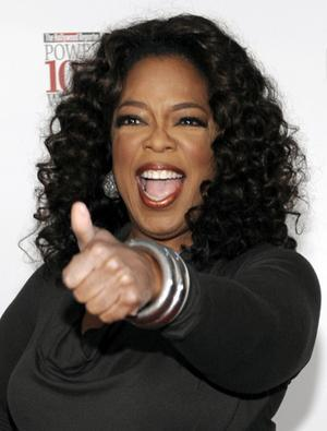 Hot Celebrity Oprah Winfrey Photo