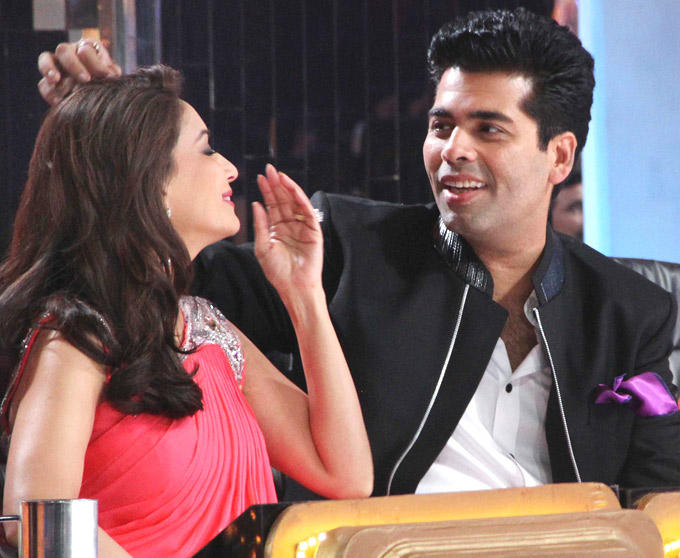 Karan and Madhuri Latest Still at Jhalak Dikhla Jaa Season 5