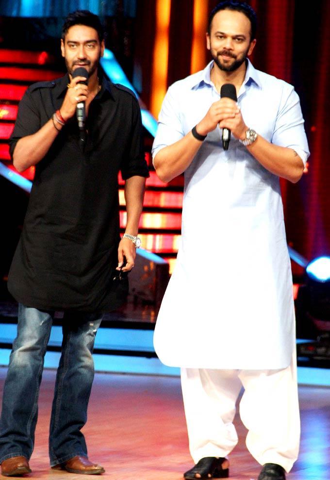 Rohit and Ajay Promote Bol Bachchan at JDJ Season 5