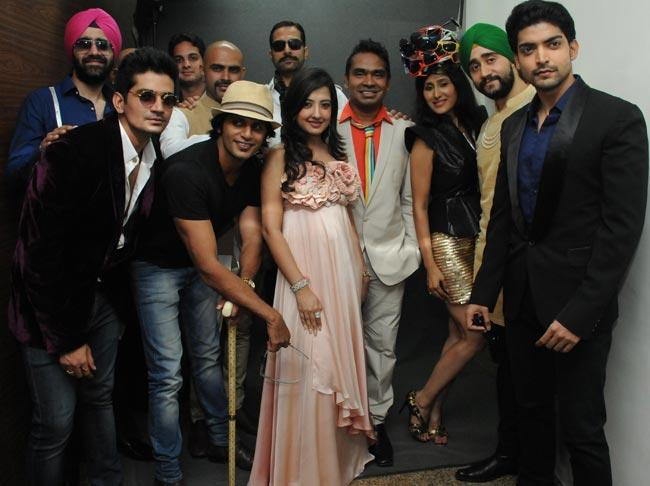TV Stars at A Fashion Show For The Cause To Save Girl Child