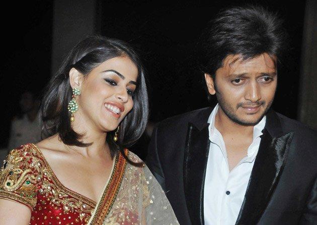 Ritesh-Genelia at Sangeet
