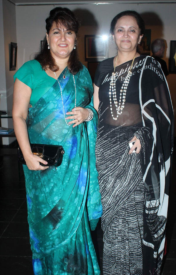 Raell and Kalpana at Tao Art Gallery Group Show