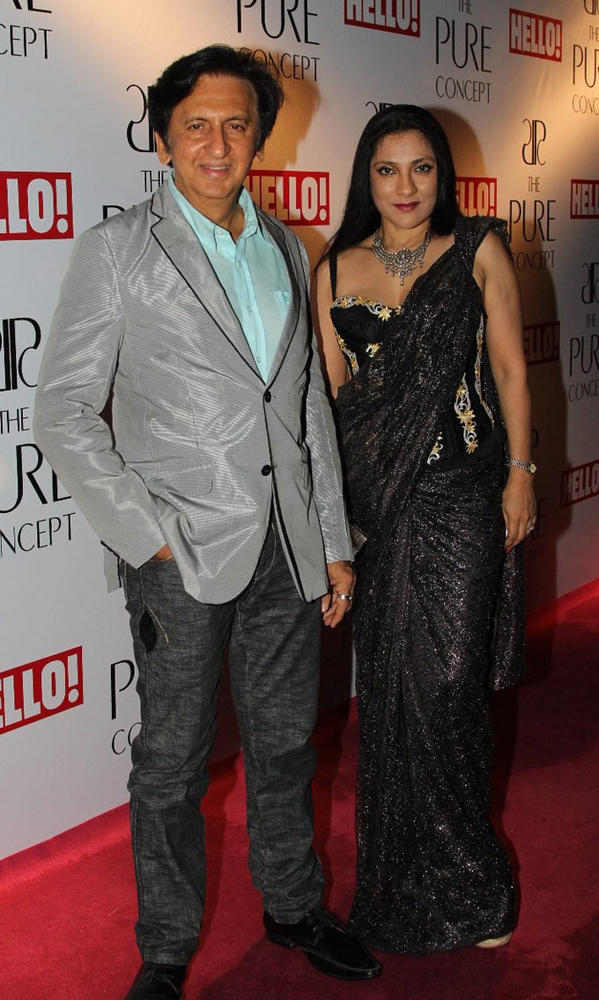 Kailash and Aarti Surendranath at Pure Concept Store Launch