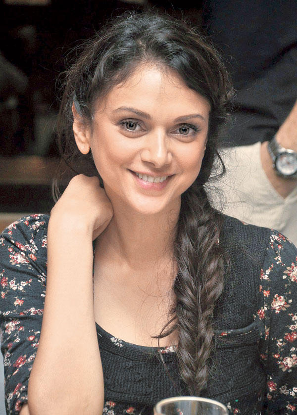 Aditi Rao Hydari Flashes a Smile at a Recent Dinner Party