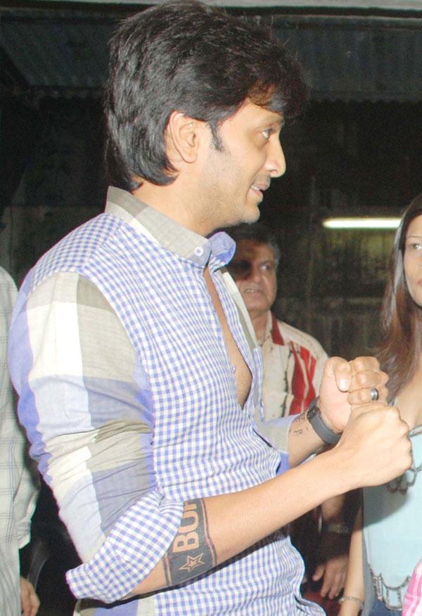 Ritesh Deshmukh Spotted at Special Screening of Bol Bachchan