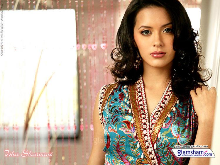 Sexy Model Isha Sharvani Wallpaper