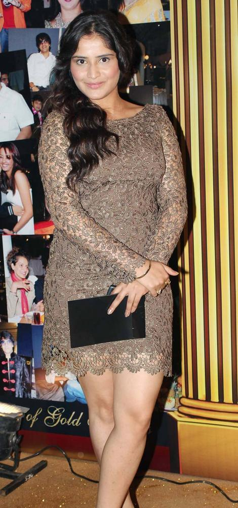 Aarti Singh Short Dress At The 5th Boroplus Gold Awards