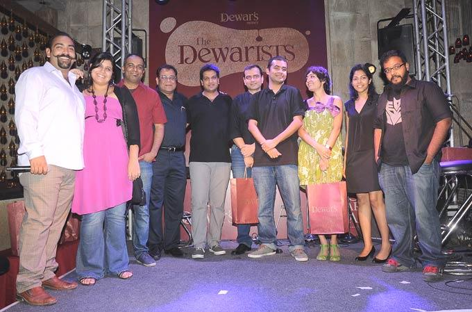 Celebs at The Dewarists Event