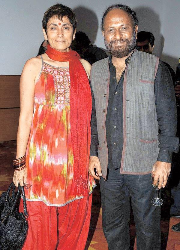 Deepa Sahi and Ketan Mehta Pose During Anup Jalota's Birthday Bash