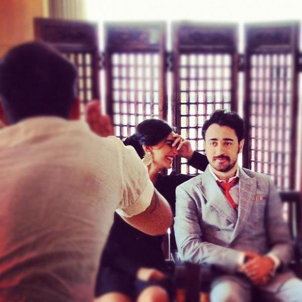 Sonam and Imran Shoot For Star Weeks Annual Style Issue