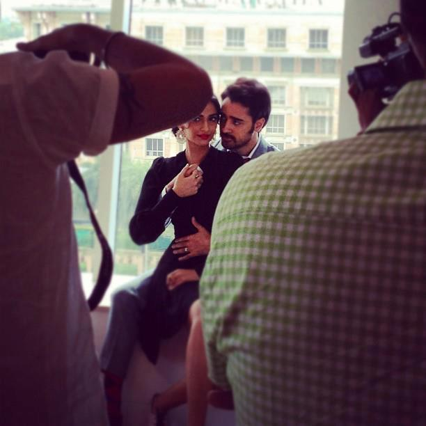 Sonam Kapoor and Imran Khan shoot for Star Weeks Annual Style Issue