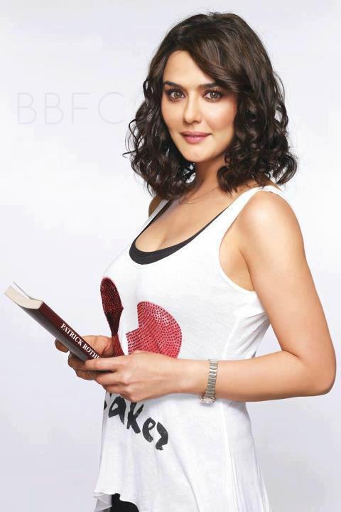 Preity Zinta Sweet Look For Ishkq In Paris