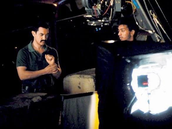 Superstar Aamir Khan On The Sets Of Talaash