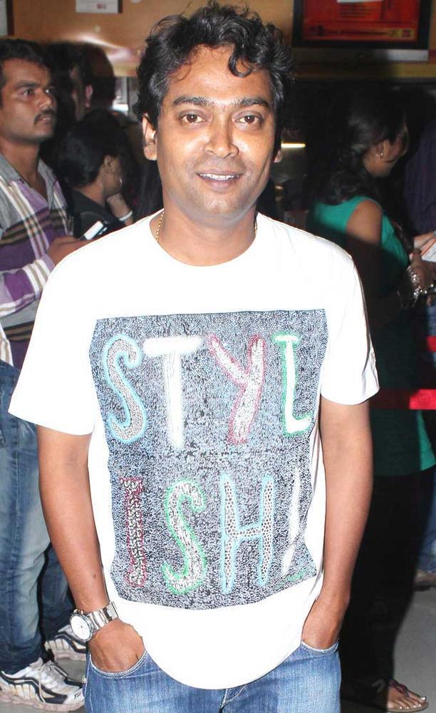 Pandarinath Kamble at No Entry Pudhe Dhokha Aahe Premiere