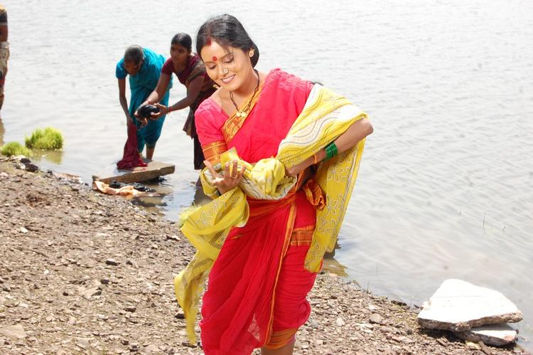 Preethi Nigam Latest Still In Chakali Ilamma Movie