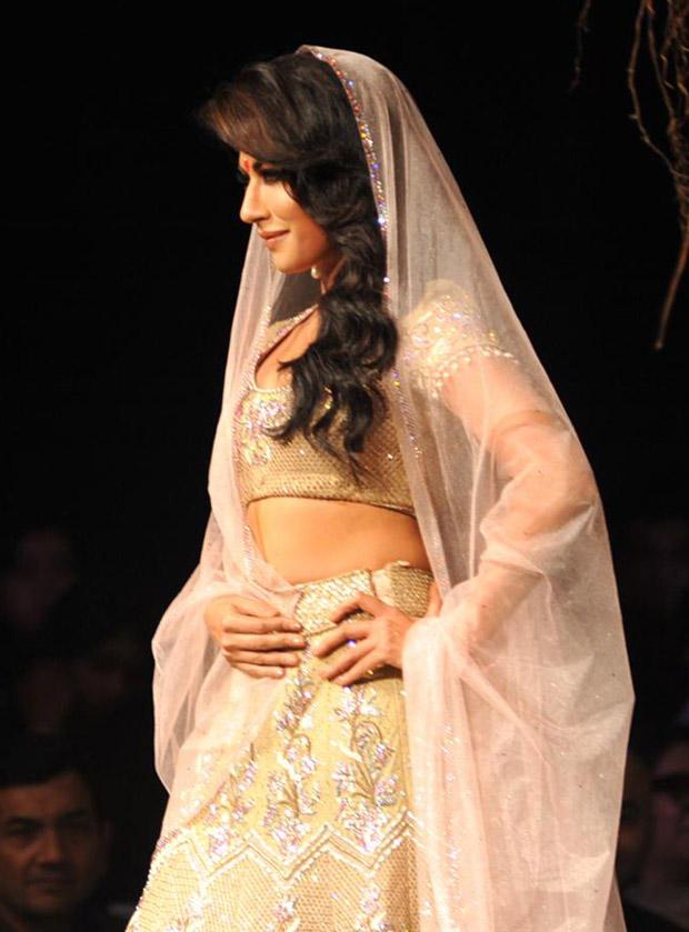 Chitrangada Singh at Aamby Valley Bridal Fashion Week