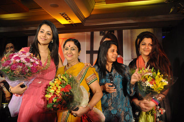 Trisha Cute and Gorgeous Photo In Pink Dress at JFW Magazine Launch Event