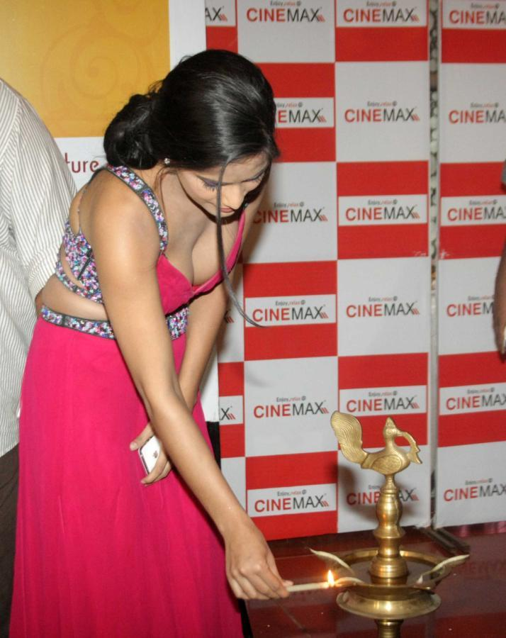Poonam Pandey at Scape Goat Movie Launch Event