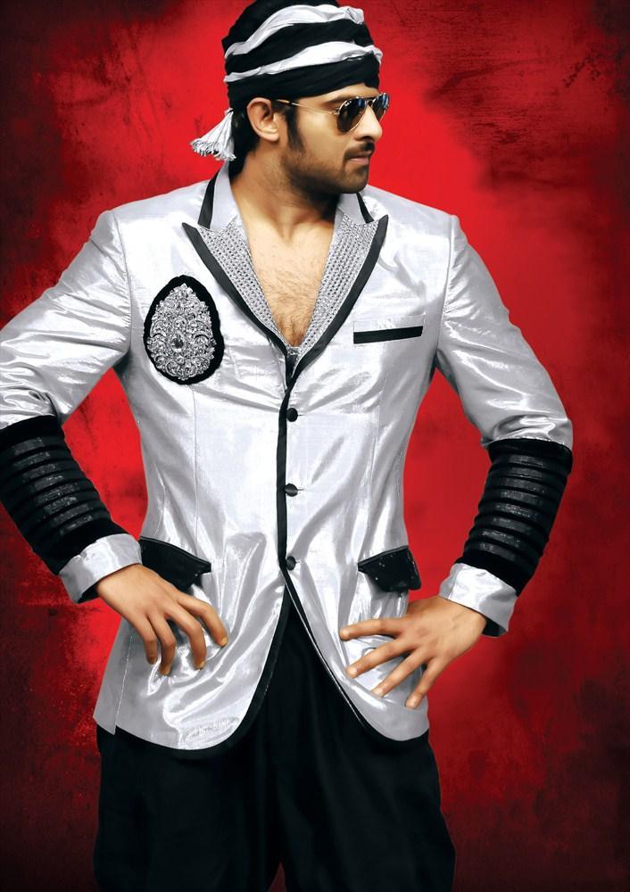 Prabhas Stylist Hot Look In Rebel Movie
