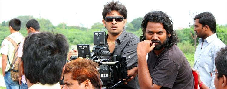 Swamy RaRa Telugu Movie Shooting Set Photo