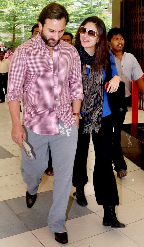 Saif And Kareena Has Been Most Popular Couple Spotted At Airport