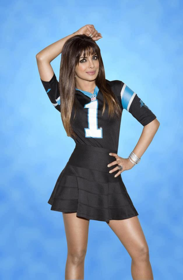 Priyanka Chopra Glamour Look Photo Shoot For NFL