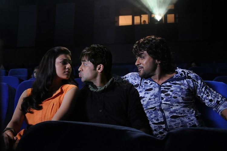 Kajal Agarwal And Surya A Still From Movie Brothers