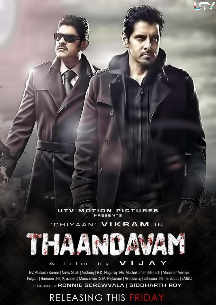 Vikram In Thandavam Movie Poster