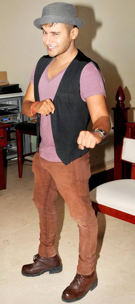 Aditya Singh-Rajput Spotted At Biba Singhs Album Launch