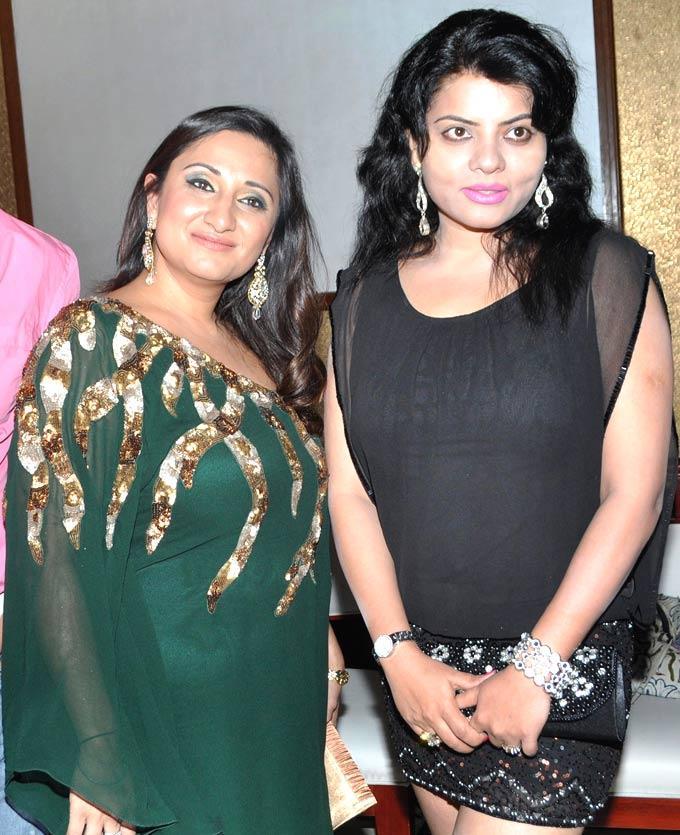 Biba With Shraddha Clicked During Launch Of Biba New Album  Nachne De Chaa