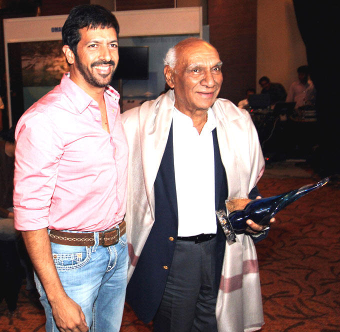 Kabir And Yash Attend The 10th Annual Locations Awards Function