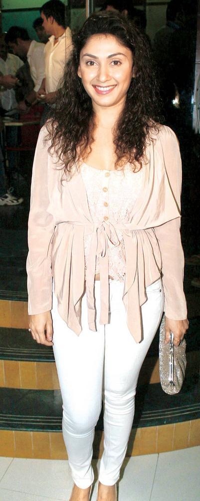 Manjari Phadnis Spotted At The Screening Of Bhoot Returns
