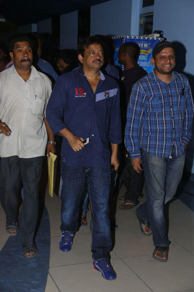 RGV Spotted At Special Screening Of Bhoot Returns