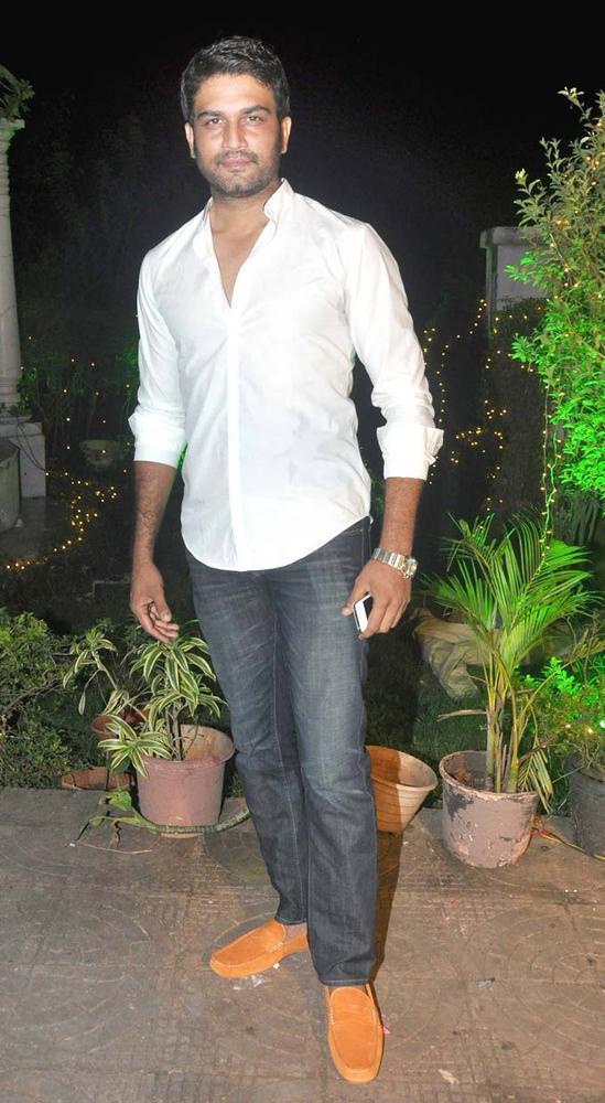 Sharad At The Party Of Yeh Rishta Kya Kehlata Hai