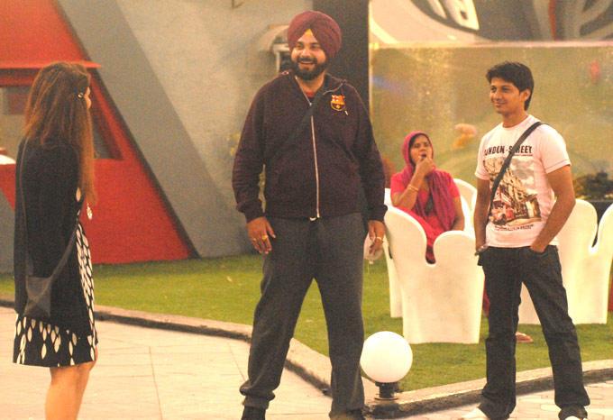 Karishma,Khasif And Navjot In Bigg Boss