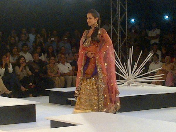 Malaika Glamour Still During BPFT 2012 Held In Gurgaon