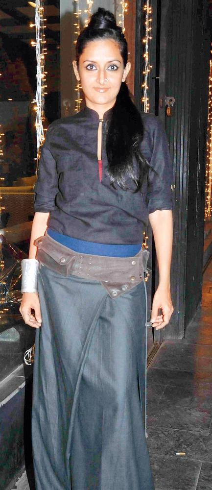 Payal Khandwala Spotted At Pallete Design Studio